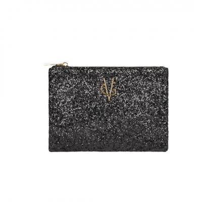 VG bustina mini glitter grosso nero