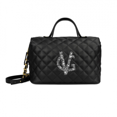 VG black duffle bag