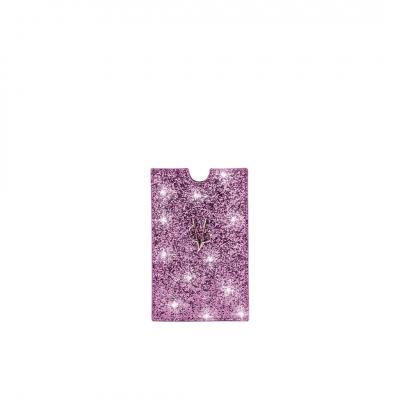 VG portacellulare glitter lilla