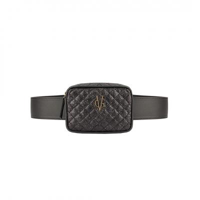 VG Marsupio a cintura glitter nero