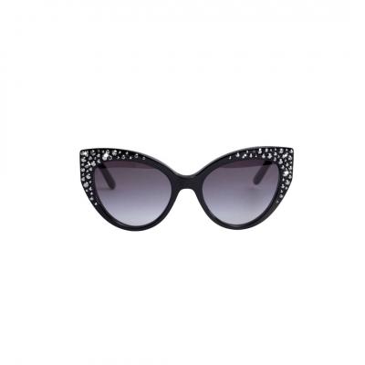 ❤️ VG lunettes de soleil avec swarovski noir