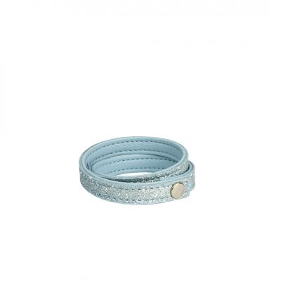 ❤️VG Dusty Blue glitter bracelet