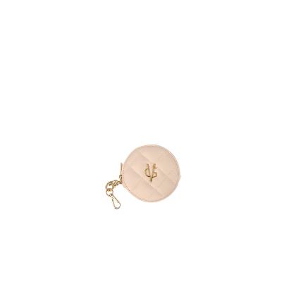 VG light pink round purse