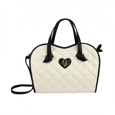 ❤️VG Low Cost-Too Chic borsa a mano bicolor