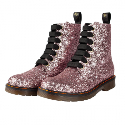 VG Boots glitter rose clair